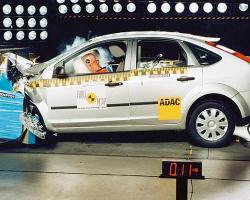 Краш-тест автомобиля Ford Focus
