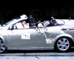 Краш-тест автомобиля Renault Megane CC