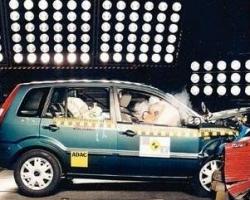 Краш-тест автомобиля Ford Fusion