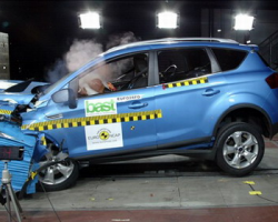 Краш-тест автомобиля Ford Kuga