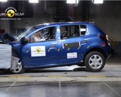 Краш-тест автомобиля Renault Sandero Stepway